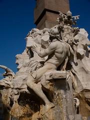 Fontana dei Quattro Fiumi 四河喷泉-多瑙河