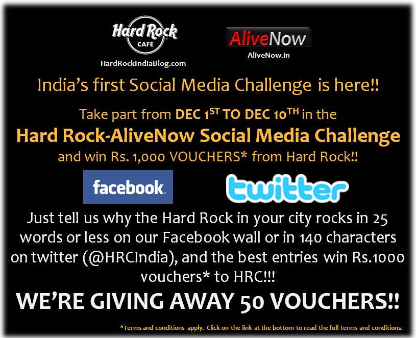 Hard Rock-AliveNow social media challenge