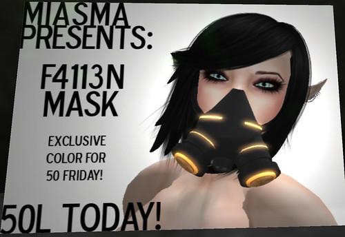 50L Miasma mask
