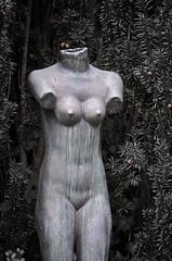 The perfect girl (melquiades1898) Tags: woman cemetery headless naked nude schweiz nikon swiss zurich nackt armless frau d90 freidhof zürich