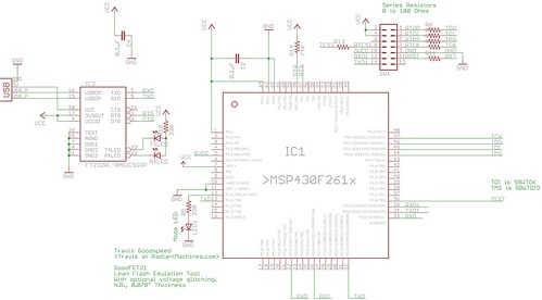 GoodFET21 Schematic