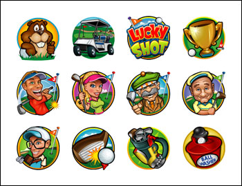 free Lucky Shot slot game symbols