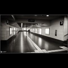 train station .. (stuep jr. 2) Tags: blackandwhite bw night underpass photography nacht bahnhof trainstation aachen unterführung georgjacobs silverefexpro