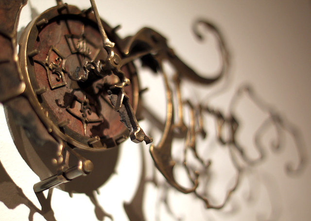 Mechanical Clock 3 - by Eric Freitas