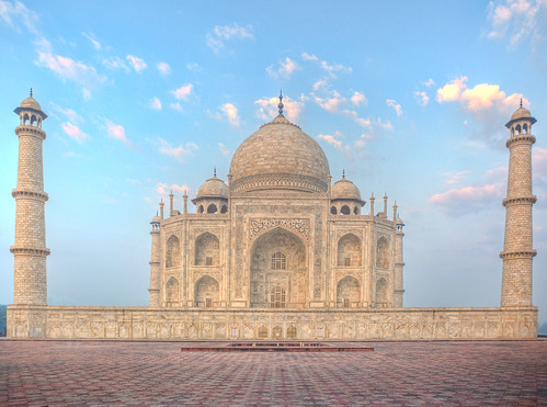 Taj Mahal, side profile