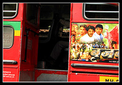 Bus (Midhun Manmadhan) Tags: red bus mumbai