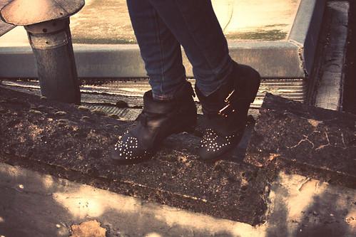france nature stu boots pics flats ankle topshop studded clouté