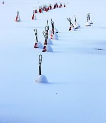 (Mallu_S) Tags: winter sea snow suomi finland lumi talvi meri buoy buoyant poiju mallusommar