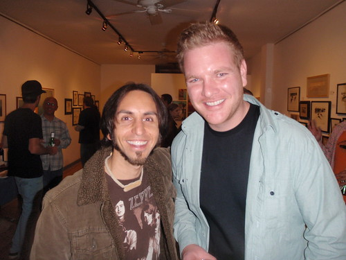 Jay and Will Pennartz (The Surf Gallery in Laguna,CA)