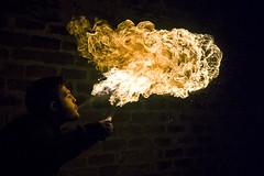 Anima - Soul (daniele simonelli) Tags: orange black fire juggler fuoco arancione fiamme giocoliere sputare sputo sputafuoco spittingfire
