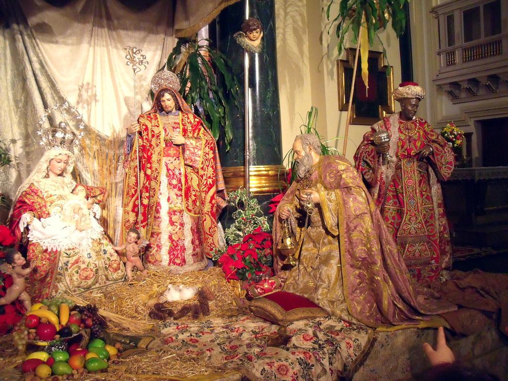 Nacimiento el la Iglesia de San Ginés