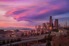 Jose Rizal Park, Seattle - Lenticular Storm (kevin mcneal) Tags: seattle urban downtown cityscape explore pacificnorthwest frontpage joserizalpark