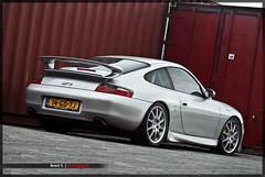 Porsche 996 GT3 MKI (Brent S.) Tags: orange black smart grey gris mercedes sony grau porsche dslr a200 zwart schwarz oranje dealer grijs mkii brabus 996 gt3 997 70