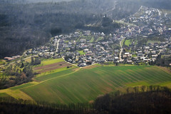 Sternenfels from above Photo