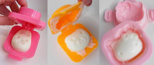 Japanese egg molds