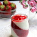 Strawberry yogurt verrines