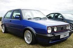 OEM Mk2 Golf ({House} Photography) Tags: blue vw golf volkswagen mk2 bbs oem dc11