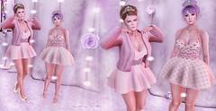 ♚ 227 ♚ (Luxury Dolls) Tags: princess deluxe tableauvivant tableauvivantsl collabor88 c88 kendrasycreations kc fiorella pink wasabipills