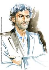 Jonas Kaufmann (Irina V. Ivanova) Tags: drawing portrait face opera artworkforsale artwork musician music tenor classical watercolor