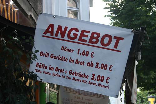 Kebabs a 1,60€!!!