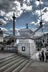 The 4th Plinth, Trafalgar Square, London (daveograve@) Tags: london square trafalgar 4th antony fourth plinth gormley oneandother g4p