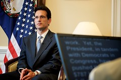 House Republican Whip Eric Cantor