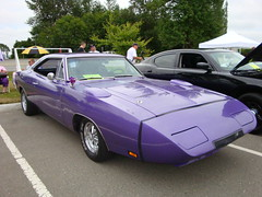 1970 Dodge Charger Daytona (Custom_Cab) Tags: 1969 car purple dodge 1970 mopar daytona clone charger bbody wingcar