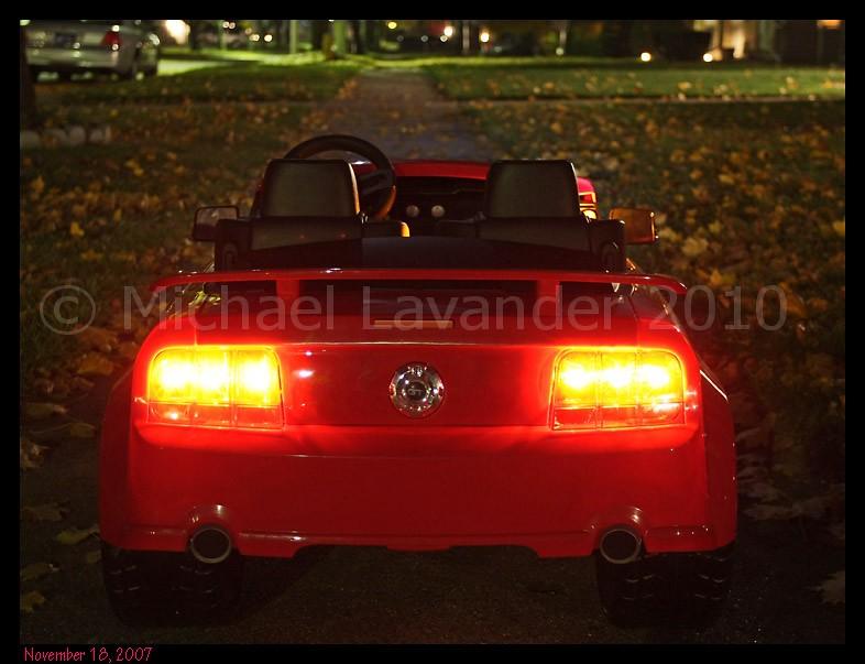 Power Wheels Mustang