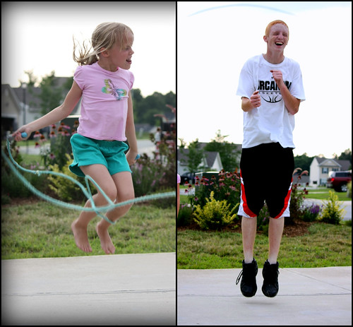 Abby+Colt Jumping
