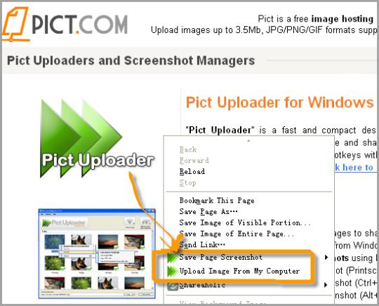 Pict Uploader
