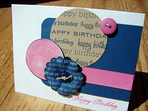 Happy Birthday card - Blog Hop