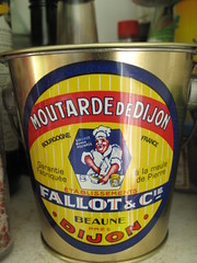 Lovely mustard tin