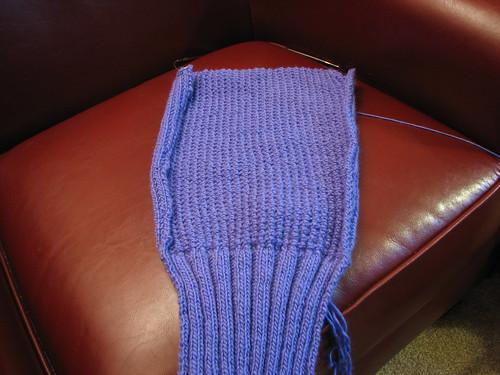 Nubby Cardigan: sleeve