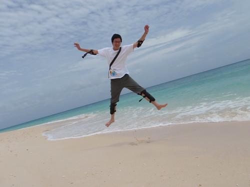 你拍攝的 【μ8000】BOLABOG海灘。
