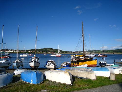 Conwy海邊