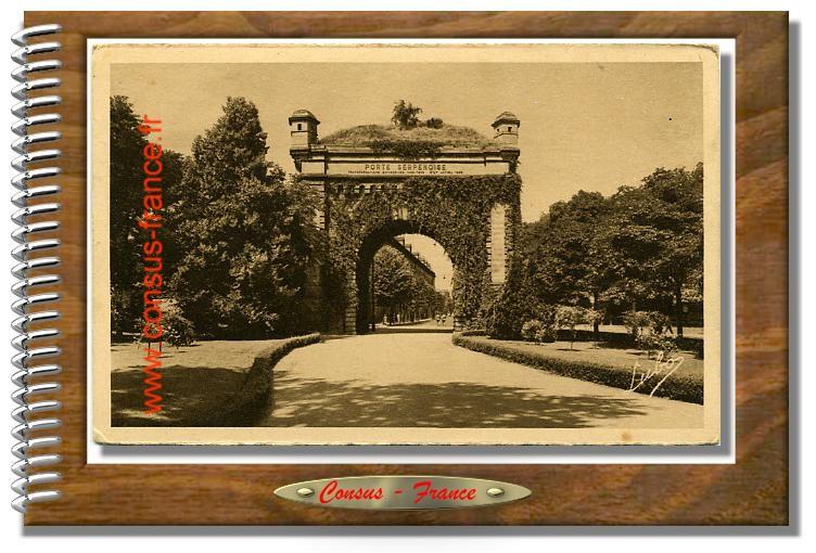 4. METZ. - Porte Serpenoise