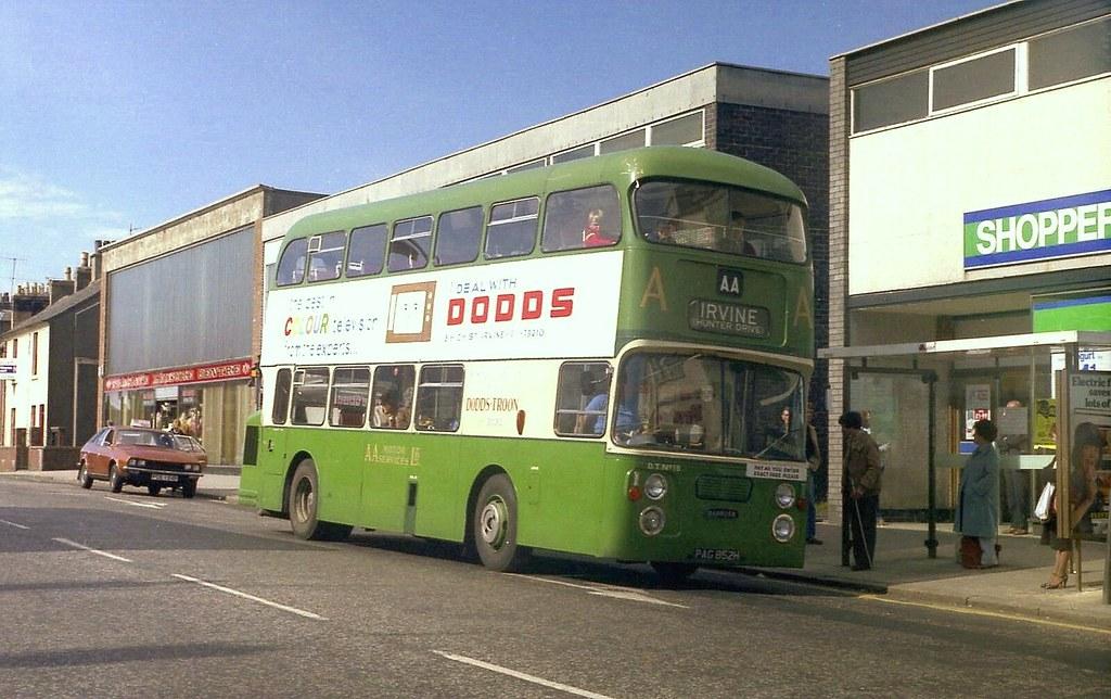 AA Motor Services, (Dodds) Fleetline - Irvine.