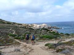 Sur le sentier de Capu di Zivia