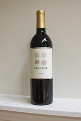 Oak Leaf Vineyards Shiraz