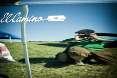 (El) Camino Royale (the riding irish) Tags: black nikon elcamino tulsa thatsme carshow 1965 nikkor50mmf14d d80 likeafunhousemirror cinnamonroseactionspresets dcholgaday2preset itlookslikeihave apinheadandtoothpickarms ontopofastaypuffmarshmallowbody