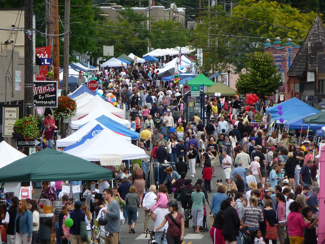 Multnomah Days street fair