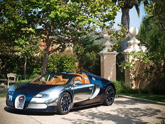 Veyron Sang Bleu (GHG Photography) Tags: blue aluminum bleu carbon bugatti sang 2009 polished veyron gransport