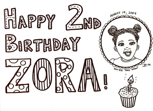 Happy Birthday, Zora!