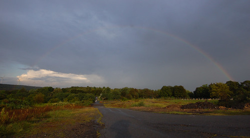 Rainbows over Centralia