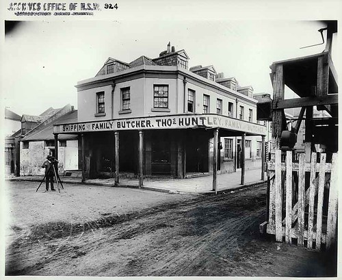 Kent Street butcher, Sydney