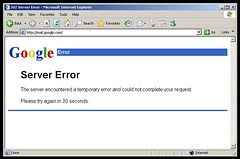 Gmail down - 502 server error