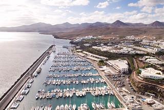 Marina Puerto Calero Lanzatote
