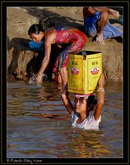 Irawadi (I) (RicardMN Photography) Tags: ro river children burma ricardo myanmar muoz birmania irawadi ayeryawadi