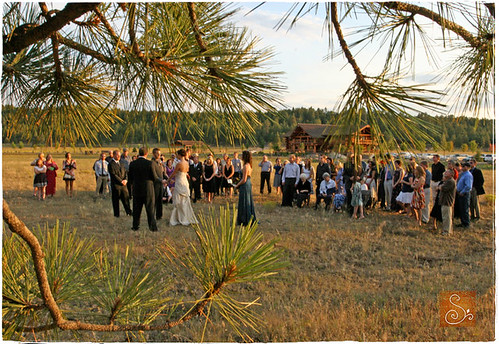 Cori Evan 39s vintage rustic wedding in a meadow