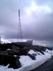 Snow on Mount Wellington